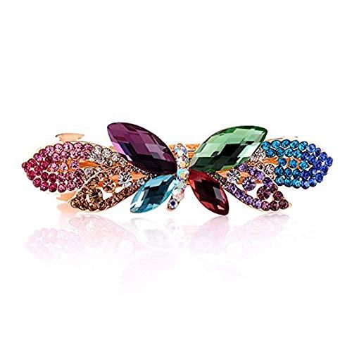PULABOFashion - Prensa de pelo con forma de mariposa para mujer, diseño creativo y exquisito