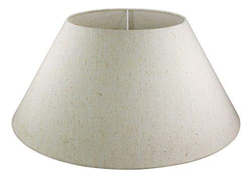 magicaldeco lámpara Pantalla 50cm de Yute Saco de plástico, Lino