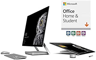 Microsoft Surface Studio Commercial (1st Gen) (Intel Core i7, 32GB RAM, 2TB) with Office Home & Student 2019 (Renewed)
