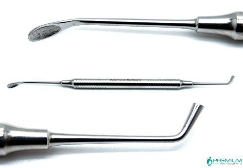 New Dental Bone Spoon Grafting Plugger Surgical Impant Packer Perodontal Instrument