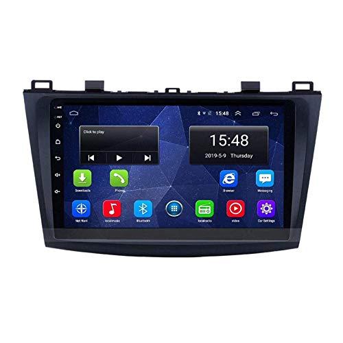 ZHANGYY Reproductor Multimedia estéreo de navegación para Coche HD Touch Sn de 9 Pulgadas Compatible con Mazda 3 Sport 2011-2018, GPS/FM/RDS/Bluetooth/SWC/Mirror Link/Cámara de visión TR