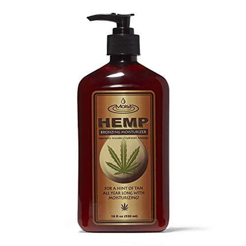 in budget affordable Creative Lab Moist Hemp Bronzing Moisturizer, 18 oz.