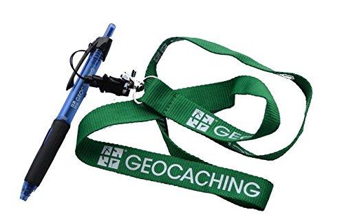 All-Weather Power Tank Pen Waterproof Stift Kugelschreiber mit Lanyard- Schlüsselband Geschenk - schreibt in jeder Lage bis -20° Air Pressure, Gasdruck Mine Geocaching