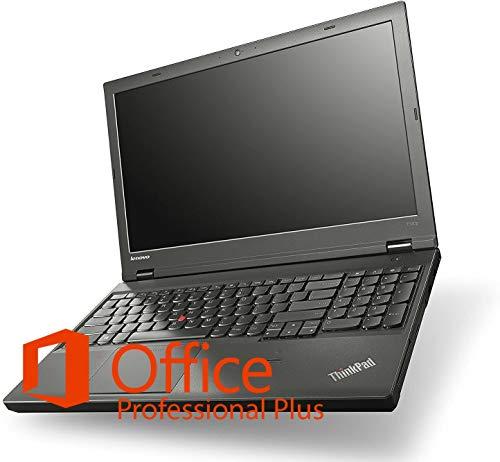 Ankermann Notebook Refurbished PC 16GB RAM DDR3 1TB SSD Lenovo ThinkPad T540p i7-4710MQ 4X 2.50GHz FHD (1920x1080) IPS Non Glare Display NVIDIA GeForce GT 730M Windows 10 W-LAN Office
