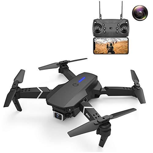 YOFEE KZT AYCD LS-E525 Pro 4K Cámara Individual de HD de Tres Caras Evitación de obstáculos de Tres Lados Aéreo aéreo de Alta definición Mini Plegable RC Quadcopter Drone Control Remoto Aviones