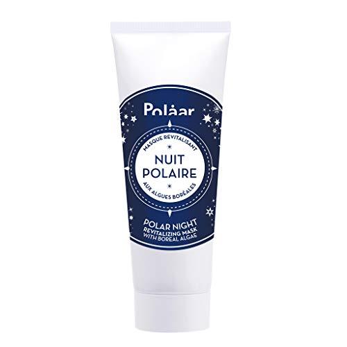 Polåar - Mascarilla de noche polar revitalizante con algas boreales - 50 ml - Tratamiento hidratante facial - Antienvejecimiento, alisado, regenerador, desintoxicante - Todas pieles - Activo natural