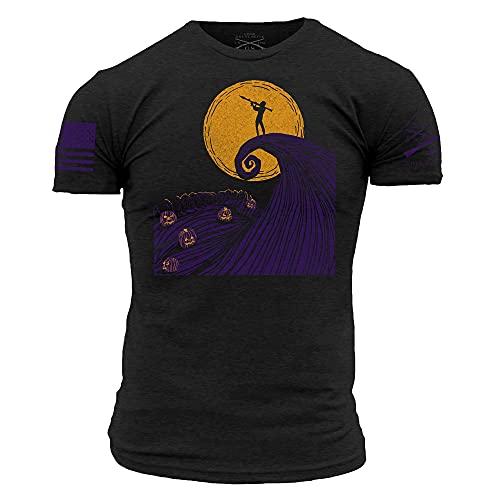 Grunt Style Night Raid Before Christmas Men's T-Shirt (Black, XXLarge)