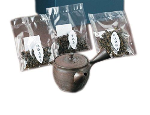 『常滑焼 高級烏龍茶飲み比べセット』