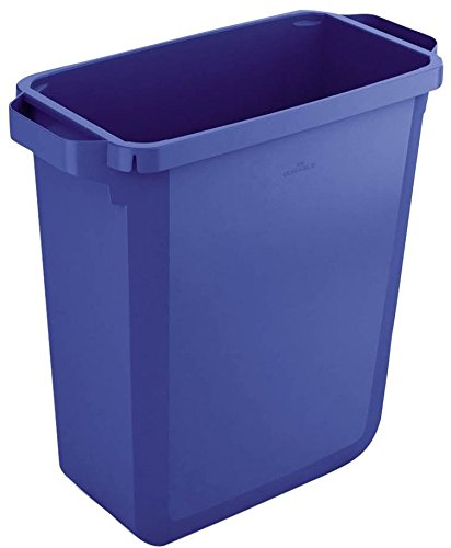 Durable 1800496040 Papelera Durabin 60 litros, Contenedor, azul