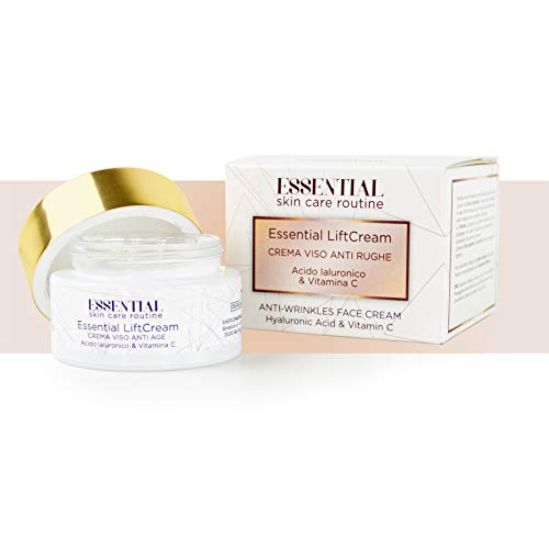 Essential Lift Cream Anti Rimpel Crème 50 ml. Met Hyaluronzuur en Vitamine C