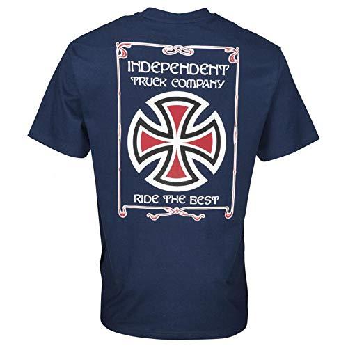 Independent Confine tee Navy - Camiseta