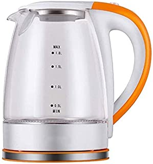 Home, anti-Fall Wear-Resistant Glass Electric Kettle, Fully Automatic Power Off Kettle/Flower Teapot, Borosilicate Glass C...