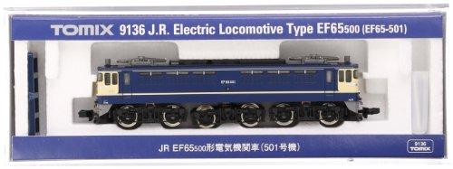 TomyTEC J.R. Electric Locomotive Type EF65-500 (#501) (Model Train)