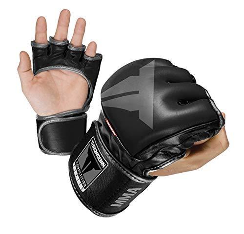Handschuhe Boxhandschuhe Pro Grade Boxhandschuhe Wesentliche Boxen Kickboxen Training Handschuhe (Größe: XS) 1yess (Size : Large)