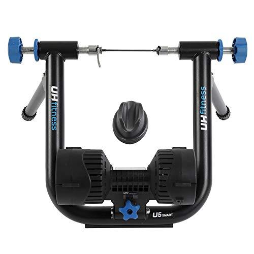 Rodillos para Bicicletas Inteligente de la vida real de energía Montar bicicleta de entrenamiento Bicicleta Plataforma Negro para Bicicletas de Carretera y Montaña ( Color : Black , Size : One Size )