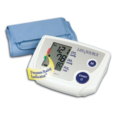 Best Prices! Blood Pressure Kit Digital Auto Inflate Large Cuff - AND Medical UA767PVL