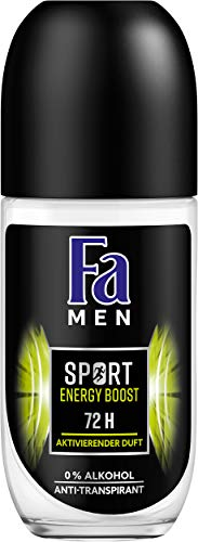 Fa Men Sport Energy Boost Roll-on Deo, 6-pack (6 x 50 ml)