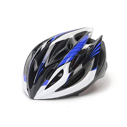 YIMUOUBA Fahrradhelm, Fahrradhelm Mountain Road Bike Balance Auto Ausrüstung Hut Eingebaute 3D Drachen Skelett Einstellbare Abnehmbare Fahrrad Spezialhelm Für Männer Und Frauen,Weiß