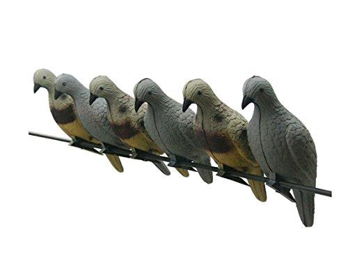 5pack Bogenschießen 3D Köder Eva Schaum Tier Pfeile Ziele Jagd Bogen Leichte Taube Schießen Hollow