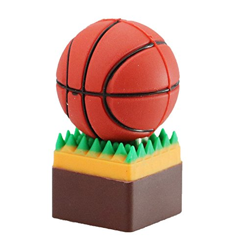 16GB Baloncesto USB 2.0 USB Flash Drive Pen Drive Memoria USB pendrive U Disco USB, Disco Flash USB de Tarjeta de Memoria