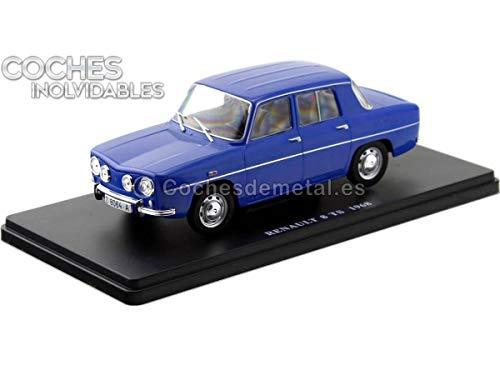 1968 Renault 8 R8 TS Azul Coches Inolvidables 1:24 Editorial Salvat ES02