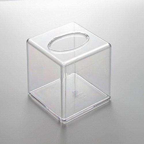polished chrome tissue box cover - 9