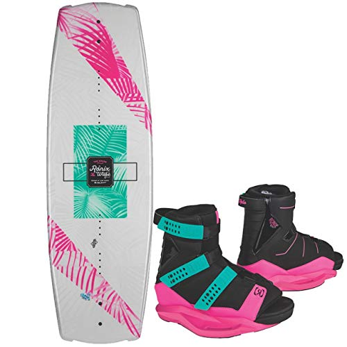 Ronix 2019 Quarter 'Til Midnight Women's Wakeboard w/Halo Boots