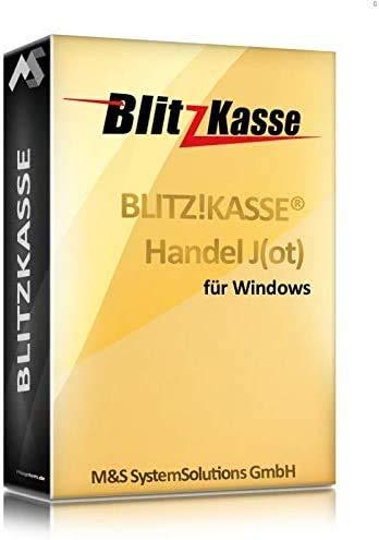 Kassensoftware für Schnellgastronomie und Einzelhandel BlitzKasse J(ot), TSE-Konform