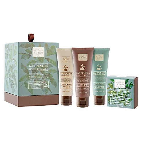 Scottish Fine Soaps Gardener's Therapy Luxury Gift Set Drum