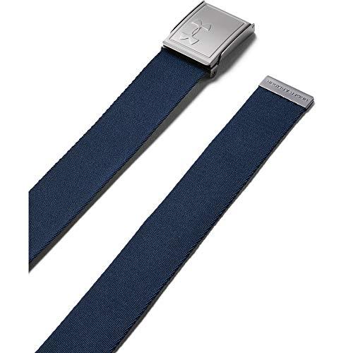 Under Armour Jungen Gürtel  Webbing 2.0 Belt, Blau, One Size, 1305463-409