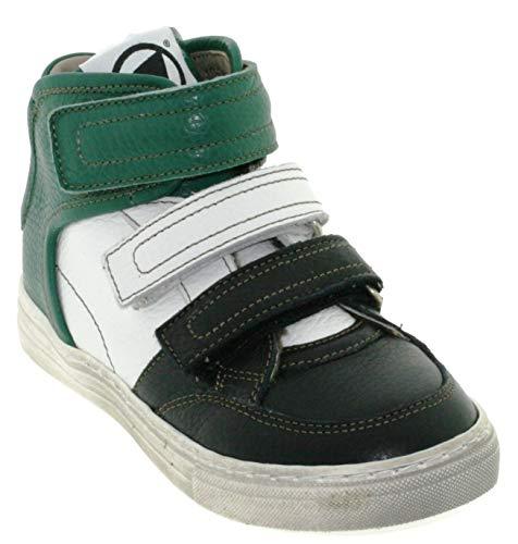 Momino Jungen High Top 3731MS Sneaker, Größe:30 EU, Farbe:Nero