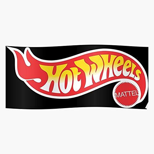 Amelius Toys Wheels New Unboxing Track Hot 2019 Racing Cars, Impressionanti Poster per la Decorazione della Stanza Stampati con L'Ultima Tecnologia Moderna su Carta semilucida