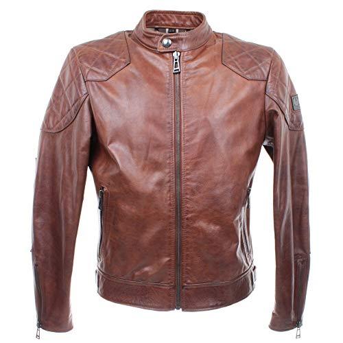 Belstaff Herren Lederjacke 71020789 Outlaw Jacket Cognac