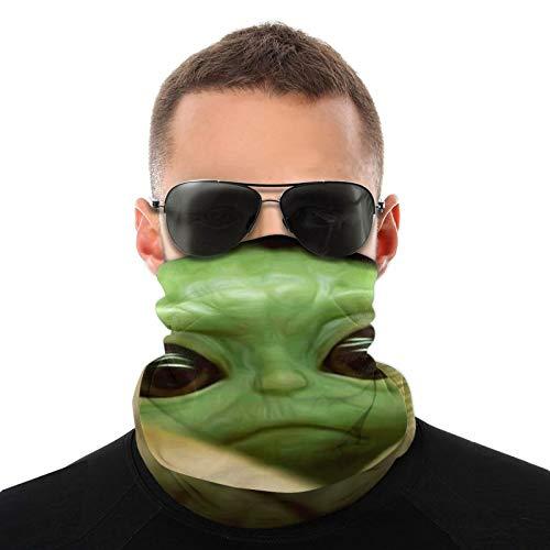 Baby Yoda 2 - Máscara de cuello multifuncional (talla única)