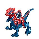 Jurassic Dinosaurs World Park Dilophosaurus Toy PVC Figuras De Acción Modelo Conjunto De Colección Juguetes para Niños Regalos