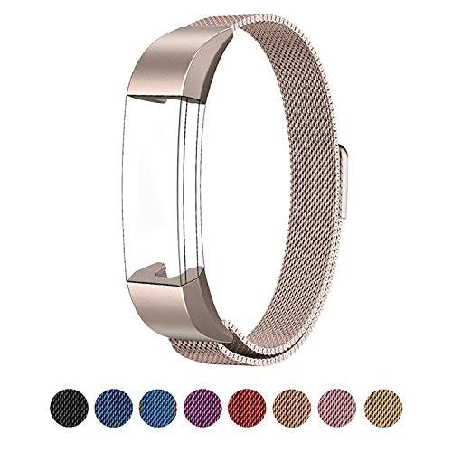 LouisTech Compatibile con Cinturino Fitbit Alta/Cinturino Fitbit Alta HR, Cinturino Metal in Acciaio Inossidabile Cinghia Bracciale per Uomo e Donna