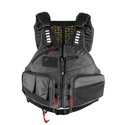 Old Town Canoes & Kayaks Lure Angler Men's Life Jacket (Gray, L/XL)