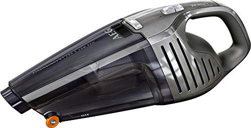 AEG HX6-14TM-W Akkusauger (beutellos, inkl. Zubehör, bis zu 14 min Laufzeit, Nass- und Trocken Handstaubsauger, 2 Leistungsstufen, oberflächenschonende Fronträder, 500ml Staubbehälter) grau