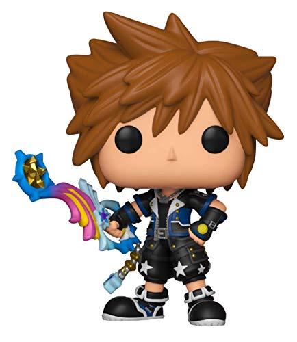 Funko - Disney Kingdom Hearts 3-Sora (Drive Form) - Figura Decorativa, Multicolor, 34060