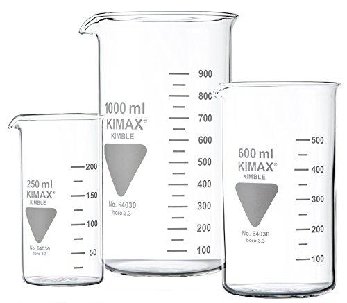 RASOTHERM Becherglas hohe Form mit Ausguss,   (Boro 3.3), 150 ml