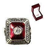 FGRGH 1955 Browns Rugby Championship Ring Réplica de anillo de campeones para fanáticos, colección de regalo para hombre, tamaño 11