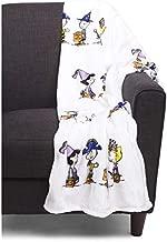 Berkshire Peanuts Halloween Velvet Soft Plush Blanket (Snoopy Characters in Costumes) 55
