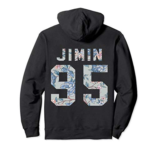 Sudadera con capucha oficial de BTS Jimin 95 Kpop Bangtan Boys Merchandise BTS15FLR