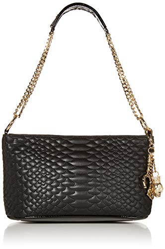 Betsey Johnson Cobra Hobo, Black