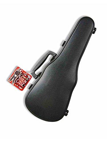Geigenkasten aus schwarzem Kunststoff Gangster