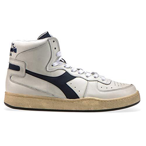 Diadora Heritage - Sneakers Mi Basket Used per Uomo e Donna (EU 42.5)