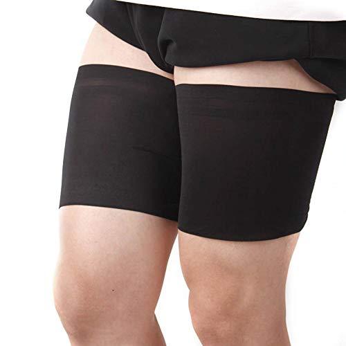 advancethy Oberschenkelbänder Spitze Damen Silikon rutschfeste Damen Socken Sport Elastische Einfarbige Oberschenkel Anti Reibung Beine Elastische Oberschenkelbänder