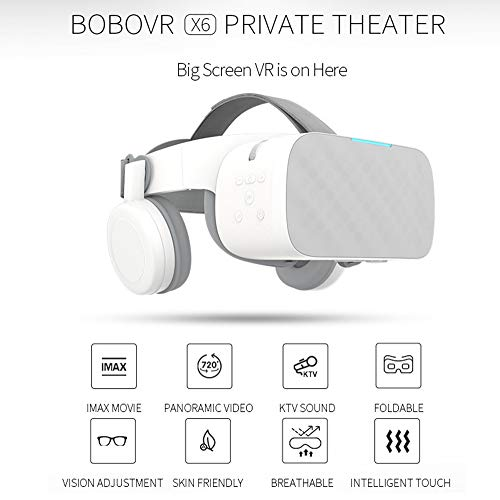 Buy Discount ILYO Virtual Reality, VR Binocular 2.5K HD Virtual Reality one Machine VR Headset Andro...