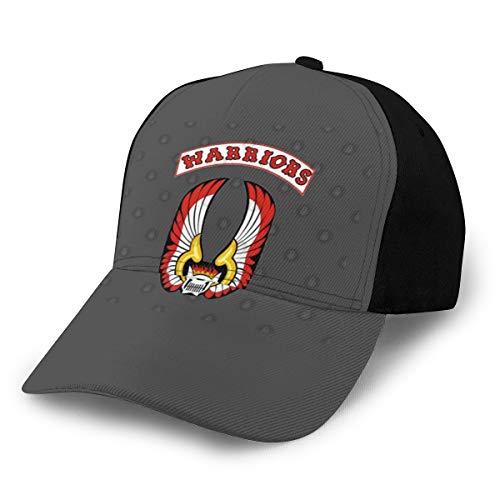 The Warriors Movie - Gorra de béisbol con logo de la película de los guerreros, color negro
