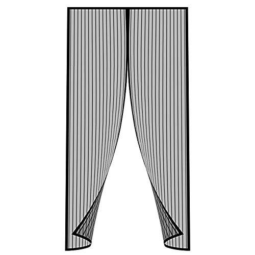 DIAOCARE Magnet Fliegengitter Tür Insektenschutz 90 x 210 cm, Magnetvorhang Insektenschutz Moskitonetz Fliegenvorhang Magnetisch für Balkontür Terrassentür Kellertür- Klebemontage Ohne Bohren